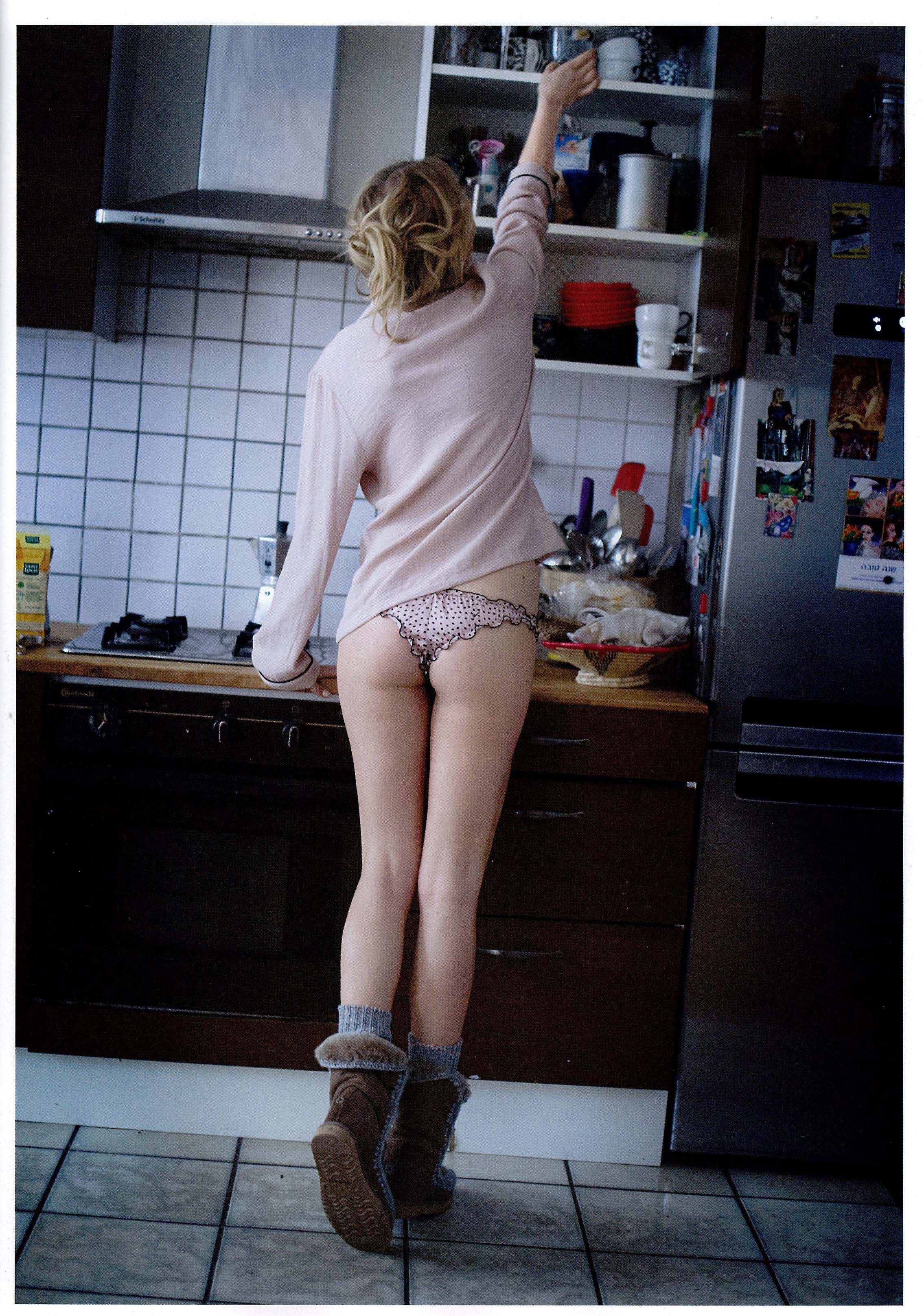 Public panties